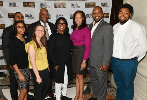 Perri duGard Owens and duGard Communications team celebrate a successful exhibition press conference during Black Music Month 2016 with NMAAM and CeCe Winans
