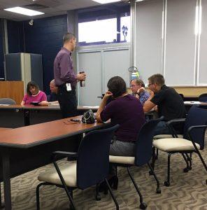 Jim McAteer leading training at Johnson City Transit