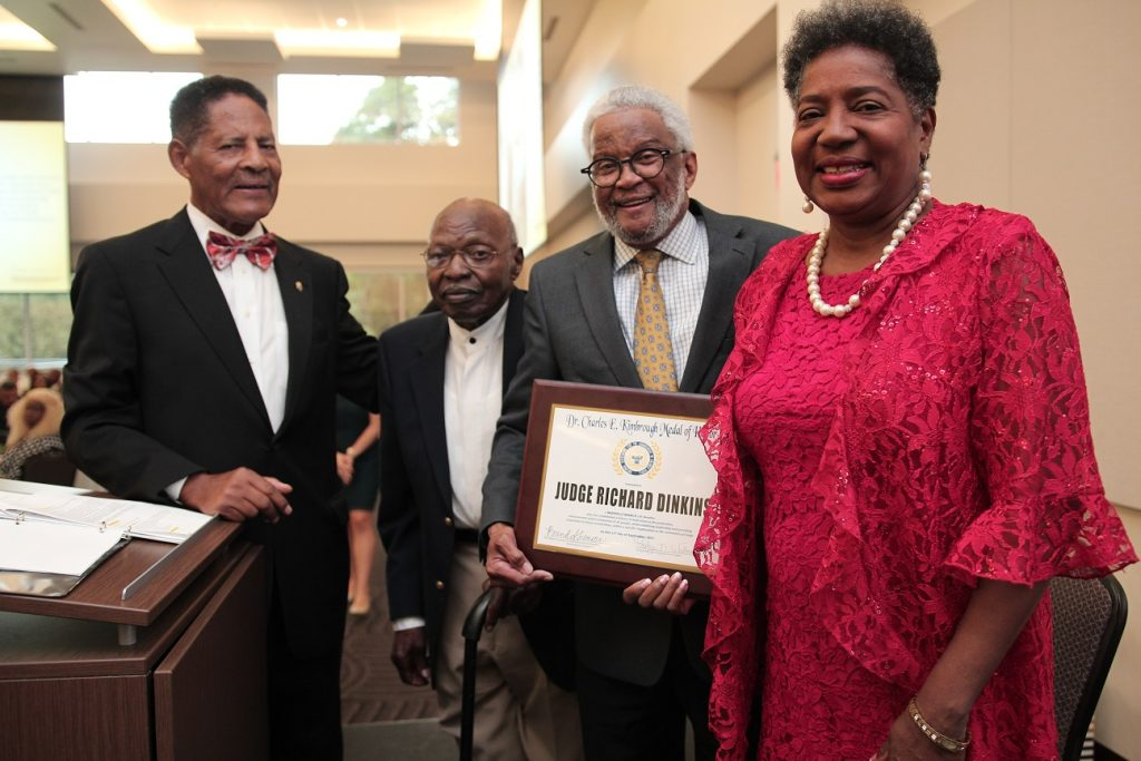 Judge Richard H. Dinkins is the 2017 recipient of the Dr. Charles E. Kimbrough Medal of Honor Award